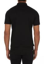 Jonathan D - Mercerized Golfer Black