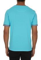Smith & Jones - Gunton T-shirt Turquoise