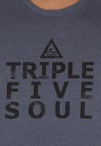 555 Soul - Joel Crew T-shirt Navy