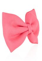 FUNKY FISH - Hair Bow Pink