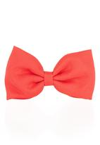 FUNKY FISH - Hair Bow Red