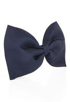 FUNKY FISH - Hair Bow Blue