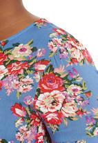 edit - Floral Boxy Top Multi-colour