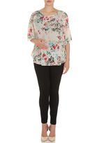 Me-a-mama - Butterfly Top Multi-colour