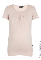 Cherry Melon - Pleat Top Pale Pink