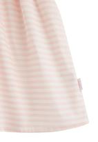 Phoebe & Floyd - Striped Party Dress Pale Pink