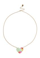 FUNKY FISH - Girls Heart Necklace Multi-colour