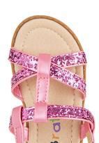 Brats - Glitter Sandals Mid Pink