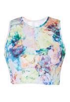 adam&eve; - Lou Floral Racer Top Multi-colour