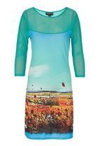 Cheryl Arthur - Provence Spring Dress Multi-colour