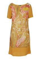 Cheryl Arthur - Protea-print Dress Multi-colour