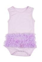 Smitten - Ruffle romper Pale purple