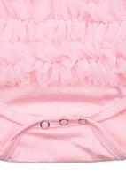 Smitten - Ruffle romper Pale pink