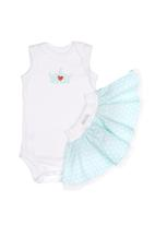 Pickalilly - Onesie Tutu White