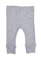 Home Grown Africa - Grey Melange Baby Leggings Pale Grey