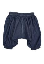 Sam & Seb - Denim Harem Shorts Mid Blue