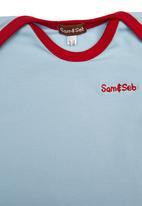 Sam & Seb - Onesie Pale Blue