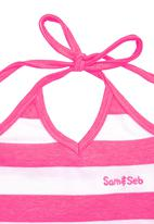 Sam & Seb - Halter-Neck Top Mid Pink