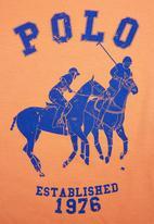 POLO - Printed T-shirt Orange