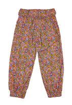 POLO - Elasticated Casual Pants Multi-colour