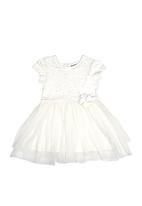 Next - Mesh Tutu Dress Stone/Beige