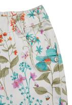 Next - Ecru Floral Skinny Jeans Multi-Colour