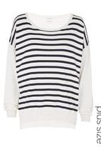 Next - Striped Fashion Sweater Beige