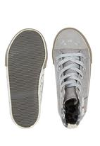 Next - Cat High-Tops Pale Grey