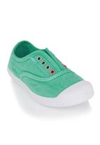 Next - Laceless Low-Tops Green