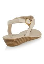 Candy - Heart Sandals Neutral