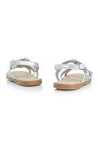 Brats - Glitter Sandal Silver