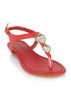 Candy - Heart Sandal Red