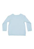 Sticky Fudge - Long-sleeve Top Blue