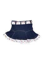 Portchie Gear - Skirt Dark Blue Black Denim