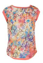 STYLE REPUBLIC - Floral Combo Top Multi-colour