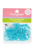 FUNKY FISH - Loom Bands Turquoise