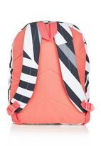 FUNKY FISH - Backpack Black/White