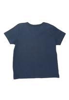 GUESS - Short-Sleeve Victory T-shirt Dark Blue