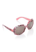 Viper - Printed Sunglasses Pale Pink