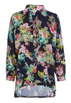 STYLE REPUBLIC - Printed blouse Navy