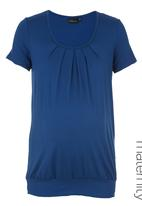 Cherry Melon - Pleated Top Blue