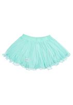 Precioux - Mesh Princess Skirt Light Green