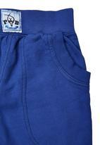 Precioux - Cuffed Pants Cobalt