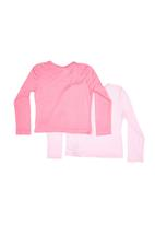 Precioux - 2-Pack Long-Sleeve Tops Mid Pink