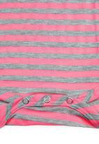 Precioux - Girls Babygro Dark Pink