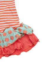 Precioux - Girls Tunic With Heart Coral