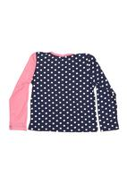 Precioux - Girls Top With Crossover Detail Navy
