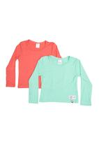Precioux - 2-Pack Long-Sleeve T-Shirt Multi-Colour