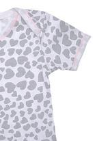 Precioux - Girls Babygro Grey/White