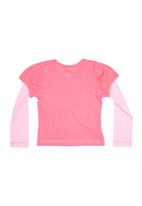 Precioux - Top In Pink And Cerise Pink